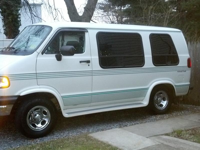 1996 dodge ram van for sale by owner in phillipsburg nj 08865. Black Bedroom Furniture Sets. Home Design Ideas